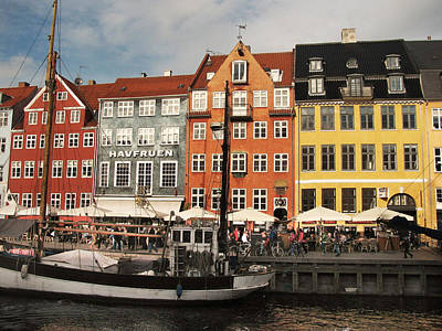 Photograph - Nyhavn by Bethany Hacker