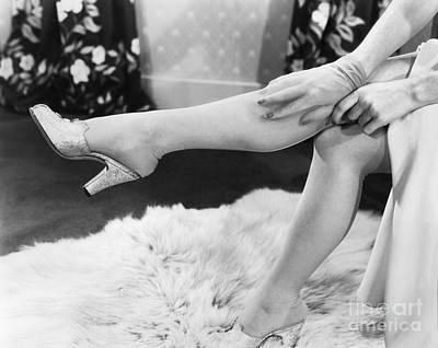Nylon Stockings, 1940 Art Print
