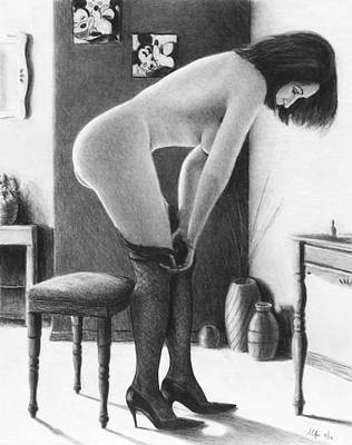 Painting - Nylons by Joseph Ogle