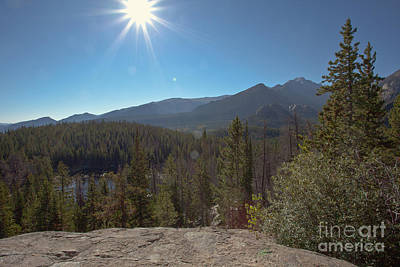 Photograph - Nymph Lake And Longs Peak by Kay Pickens