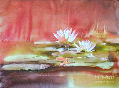 Waterlily Painting - Nympheas by Robert Hooper