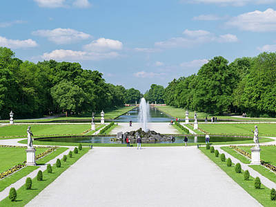 Ally Photograph - Nymphenburg Palace And Park In Munich by Martin Zwick