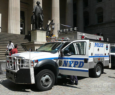 Photograph - Nypd Emergency Service Rep by Steven Spak