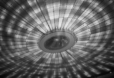 Photograph - N Y S Pavilion Roof by John Schneider