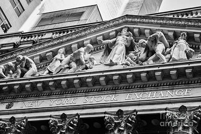Nyse Art Print by Jerry Fornarotto