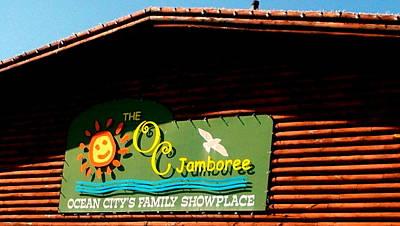 Photograph - O. C. Jamboree Sign by Pamela Hyde Wilson