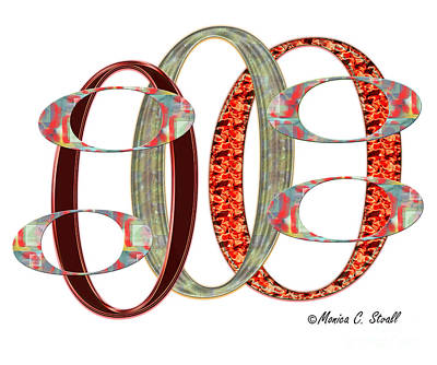 Digital Art - O Design  by Monica C Stovall