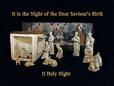Photograph - O Holy Night... It Is The Night Of The Dear Saviour's Birth  by Lucinda Walter