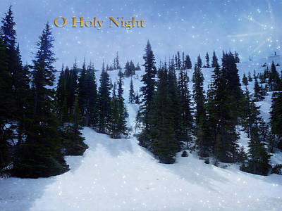 Photograph - O Holy Night by Lucinda Walter