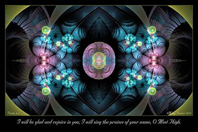 Digital Art - O Most High by Missy Gainer