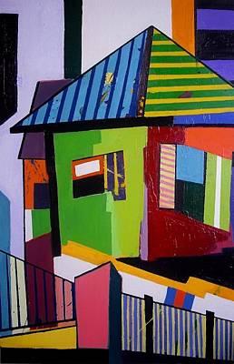 Diversity Painting - O Partido by Seren Moran