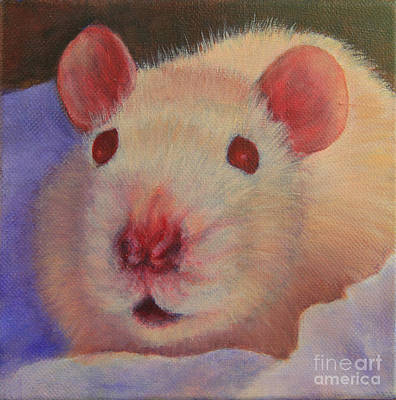 Painting - O Rats by Jeanette French