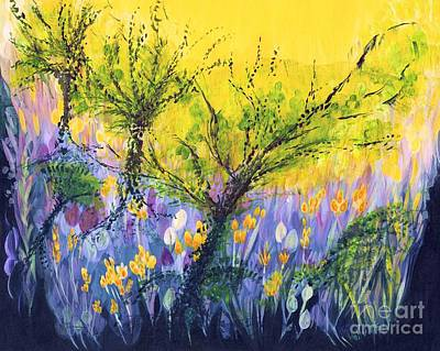 Painting - O Trees by Holly Carmichael
