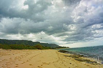 Digital Art - Oahu Beach View by Nur Roy