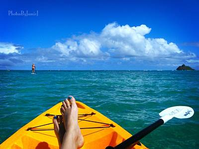 Photograph - Oahu Toes by Jamie Johnson