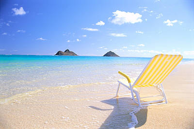 Photograph - Oahu Lanikai Beach by Bill Brennan - Printscapes