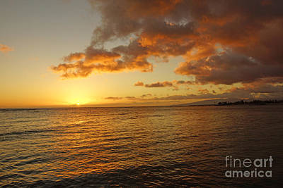 Photograph - Oahu Sunset by Nur Roy