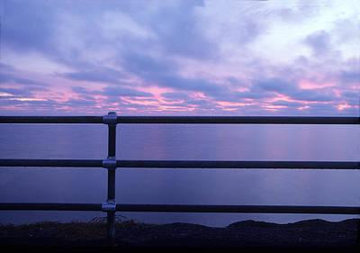 Photograph - Oak Buffs-sun Rise--martha's Vineyard by Harold E McCray