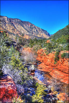 Photograph - Oak Creek Canyon At Slide Rock by Roger Passman
