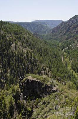 Oak Creek Canyon Overlook Print by David Gordon