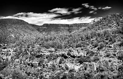 Photograph - Oak Creek Clouds by John Rizzuto