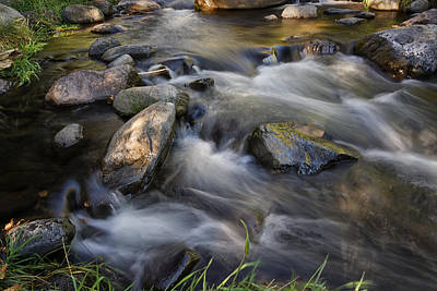 Photograph - Oak Creek Near Sedona Arizona Dsc08833 by Greg Kluempers