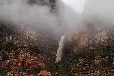 Photograph - Oak Creek Waterfall by Tom Kelly
