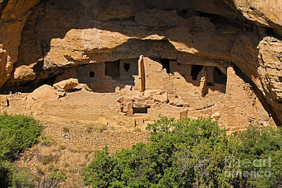 Photograph - Oak Tree House Mesa Verde National Park by Fred Stearns