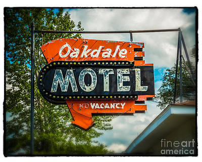 Oakdale Motel Original by Perry Webster