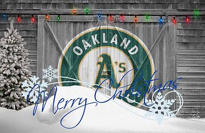 Photograph - Oakland Athletics by Joe Hamilton