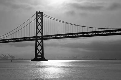 Oakland Bay Bridge Art Print