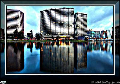 Digital Art - Oakland by Holley Jacobs