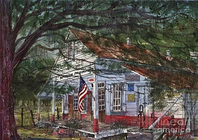 Oakland Plantation Store Art Print by Tim Oliver