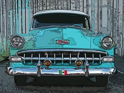 Oakland Street Cruiser Art Print