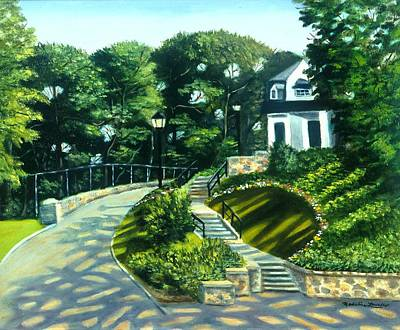 Oakridge In Forest Park Art Print