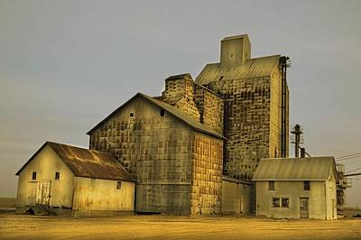 Oakwood Elevator Art Print