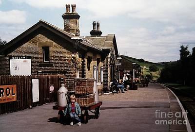 Novel Photograph - Oakworth Station by Martin Howard