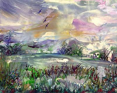 Painting - Oasis by Brenda Robinson