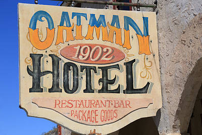 Photograph - Oatman Hotel by Donna Kennedy