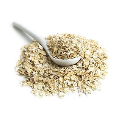 Porridge Photograph - Oats And A Spoon by Science Photo Library