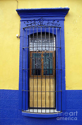 Photograph - Oaxaca Window Mexico by John  Mitchell
