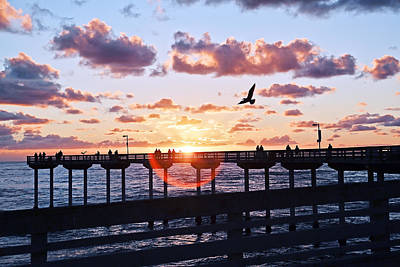 Photograph - Ob Pier  by Gigi Ebert