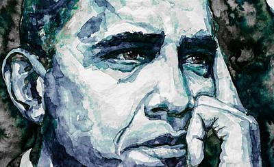 Obama 6 Art Print by Laur Iduc