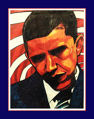 Obama Art Print by Boze Riley