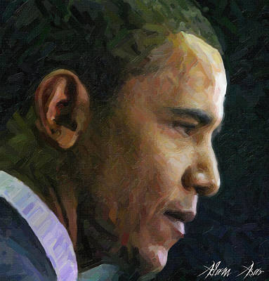 Featured Tapestry Designs - Obama1 by MotionAge Designs
