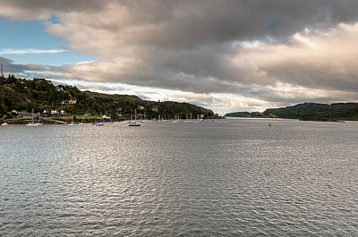 Art Print featuring the photograph Oban's Lagoon by Sergey Simanovsky