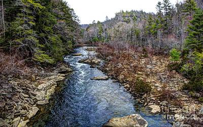 Obed Photograph - Obed River Looking North by Paul Mashburn