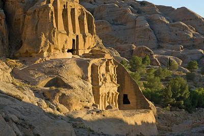 Tomb Photograph - Obelisks Tomb, Petra, Jordan (unesco by Keren Su