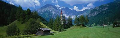 Oberndorf Tirol Austria Art Print by Panoramic Images