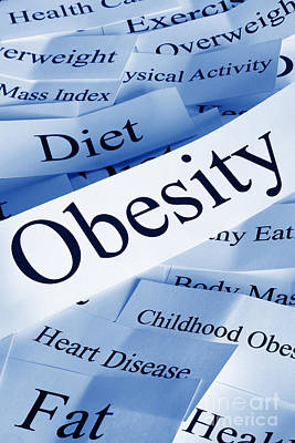 Photograph - Obesity Concept by Colin and Linda McKie